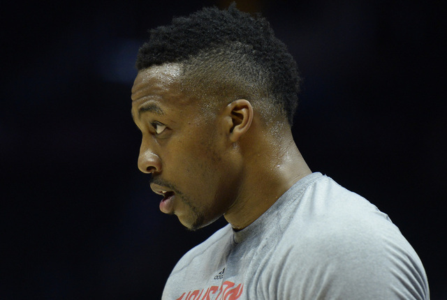 Dwight Howard on Mar 15, 2015 at Staples Center. (Robert Hanashiro/USA TODAY Sports)