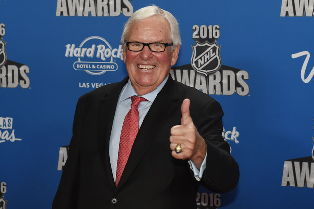 Businessman and recipient of the NHL expansion for Las Vegas Bill Foley appears on the red carpet prior to the annual NHL Awards program Wednesday at the Hard Rock Hotel in Las Vegas. (Sam Morris/ ...