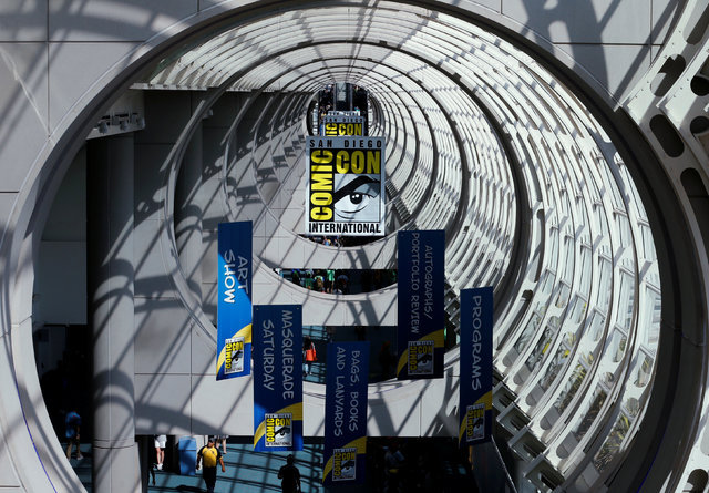 The convention center hosting the pop culture event Comic-Con International is shown in San Diego, California, United States July 22, 2016. (Mike Blake/Reuters)