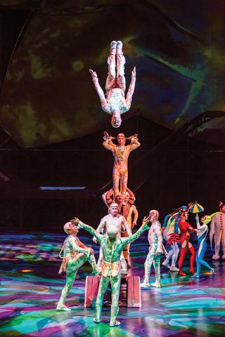 """Cirque du Soleil's """"Mystere"""" at Treasure Island. (Erik Kabik)"""