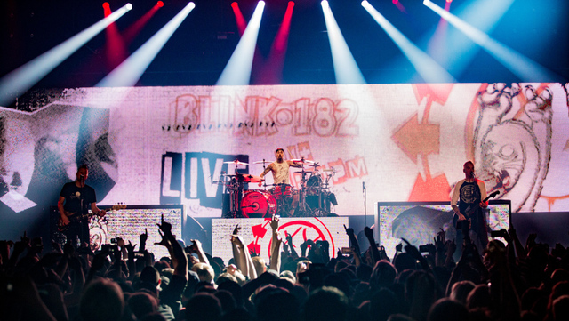 Blink-182 headlines The Joint on July 23, 2016, at the Hard Rock Hotel. (Erik Kabik)