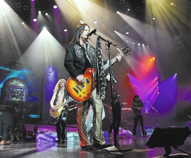 John Payne performs in Raiding the Rock Vault at the LVH. (Denise Truscello/WireImage)