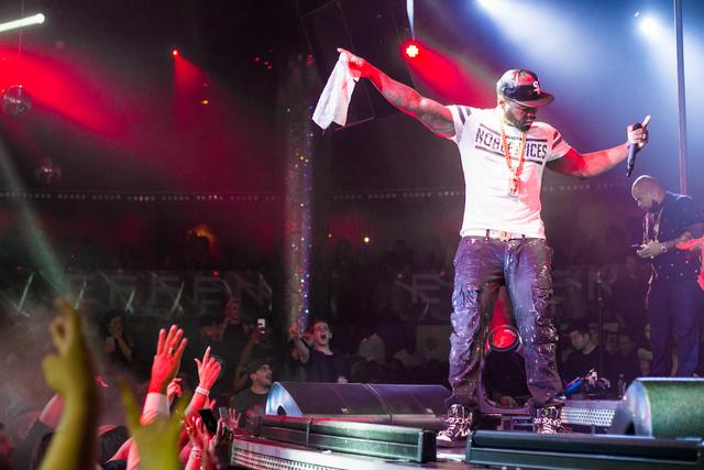 50 Cent at Drai's Nightclub on July 23, 2016, atop The Cromwell. (Jesse Sutherland/Tony Tran Photography)