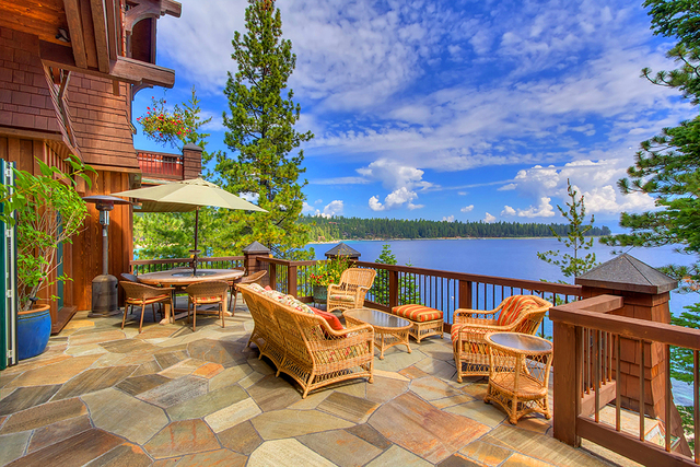 A Lake Tahoe summer vacation home. (Courtesy)