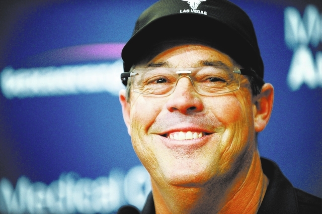 Texas Rangers special assistant Greg Maddux talks about his election to the Baseball Hall of Fame during a news conference Thursday, Jan. 23, 2014, in in Arlington, Texas. (AP Photo/The Fort Worth ...