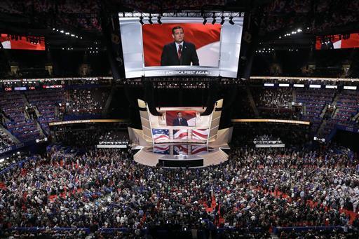 Cruz Talks Conservative But Doesn T Endorse Trump At Convention Las Vegas Review Journal