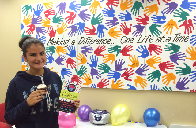Banesa (last name withheld) poses for a photo at Olive Crest, 4285 N. Rancho Drive, Suite 160. Banesa was a participant of the Project Independence program, in which young adults aging out of the  ...