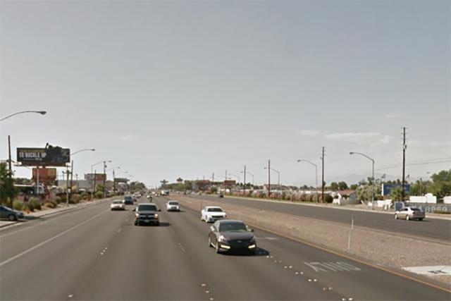 4800 block of Boulder Highway in Las Vegas. (Google Street View)