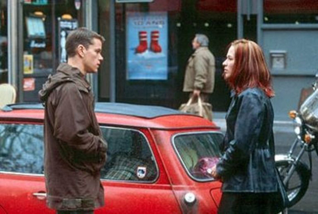 "Matt Damon and Franka Potente star in ""The Bourne Identity,"" which was partly filmed in Las Vegas. (Courtesy)"