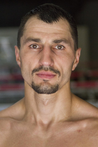 Ukrainian boxer Viktor Postol poses for a photo during media day workouts at the Top Rank boxing gym in Las Vegas on Tuesday, July 19, 2016. (Richard Brian/Las Vegas Review-Journal) Follow @vegasp ...
