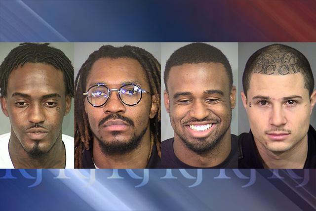 Devonte Wash, Arthur E. Moore, Davon Sebastian Phillips and Nadin Hiko (Las Vegas Metropolitan Police Department)
