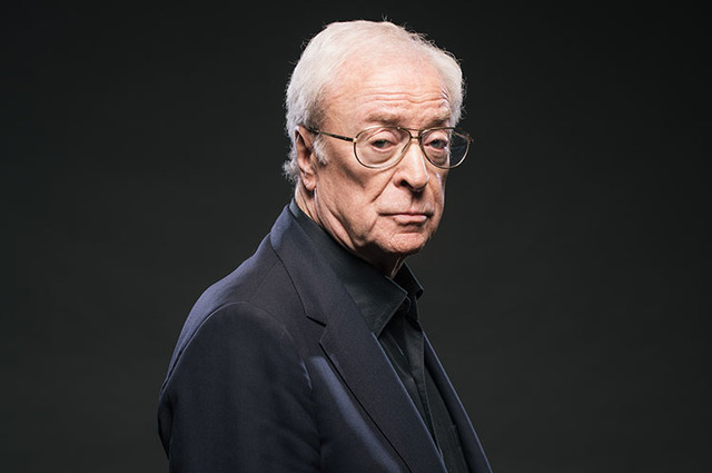 Actor Michael Caine poses for a portrait in 2015 at The Four Seasons in Los Angeles. (Casey Curry/Invision/AP)