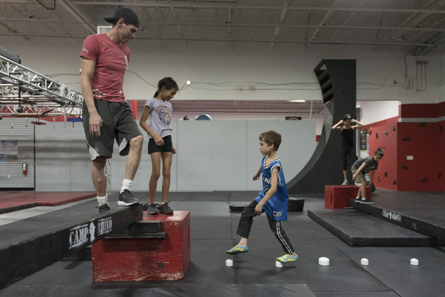 Las vegas camp lures wannabes for american ninja warrior las