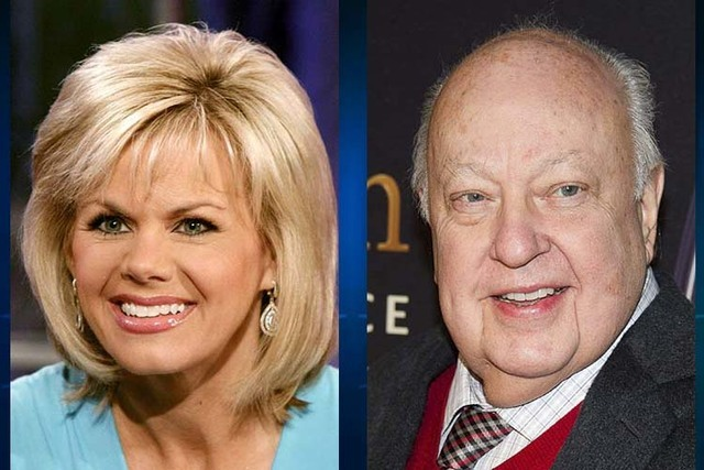 Gretchen Carlson and Roger Ailes (AP)