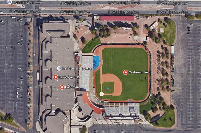 Cashman Center (Google Earth)