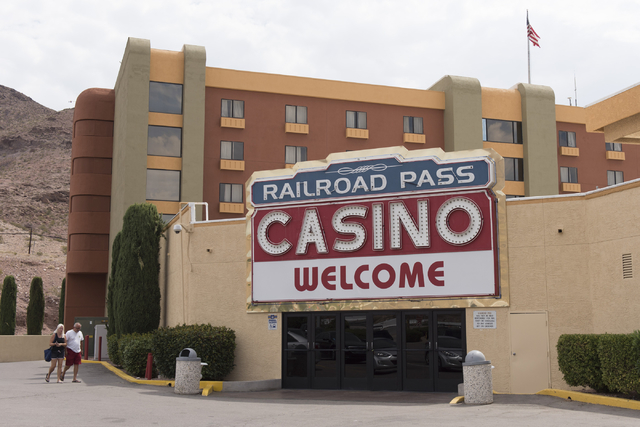 Railroad Pass hotel-casino at 2800 S. Boulder Highway in Henderson is seen Friday, July 29, 2016. The hotel-casino celebrates its 85th anniversary this Monday. Jason Ogulnik/Las Vegas Review-Journal