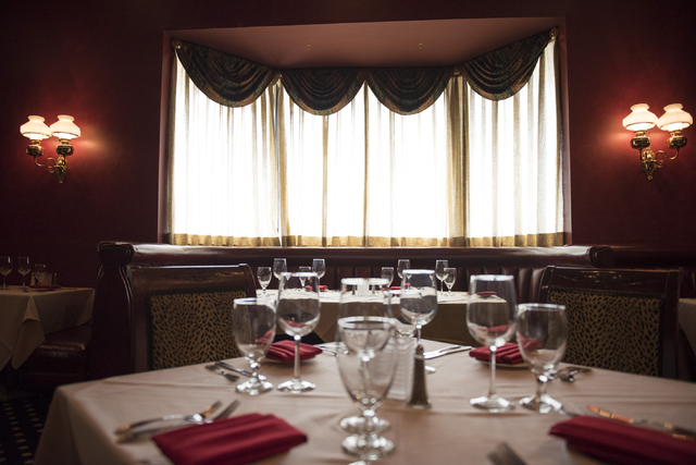 Designee's Steakhouse at Railroad Pass hotel-casino in Henderson is seen Friday, July 29, 2016. The hotel-casino celebrates its 85th anniversary this Monday. Jason Ogulnik/Las Vegas Review-Journal