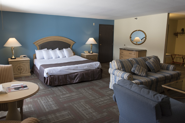 A suite at Railroad Pass hotel-casino in Henderson is seen Friday, July 29, 2016. The hotel-casino celebrates its 85th anniversary this Monday. Jason Ogulnik/Las Vegas Review-Journal