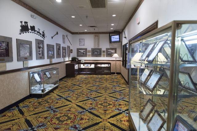 The Heritage Room at Railroad Pass hotel-casino in Henderson is seen Friday, July 29, 2016. The hotel-casino celebrates its 85th anniversary this Monday. Jason Ogulnik/Las Vegas Review-Journal