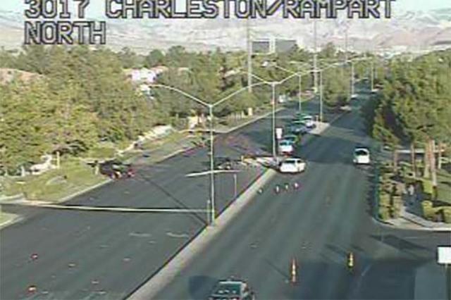 Charleston Boulevard near Rampart (RTC FAST Cameras)