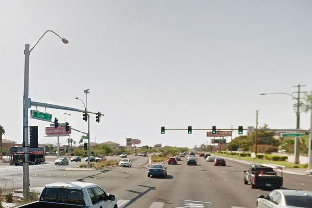 4800 block of Boulder Highway near Harmon in Las Vegas. (Google Street View)