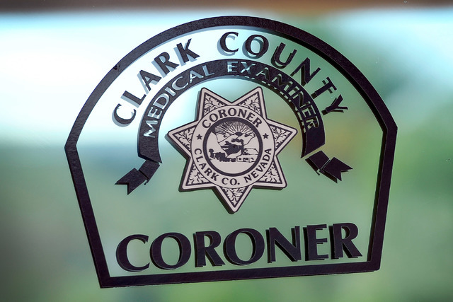 The logo for the Clark County Coroner. (David Becker/Las Vegas Review-Journal)