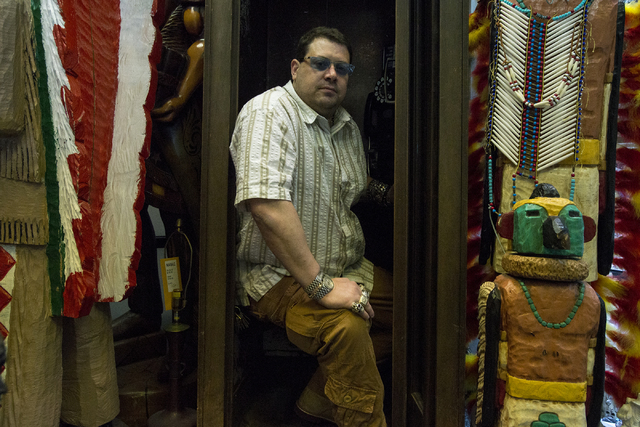 Owner of Nevada Coin Mart Neil Sackmary is shown at his store in Las Vegas June 23. Bridget Bennett/View