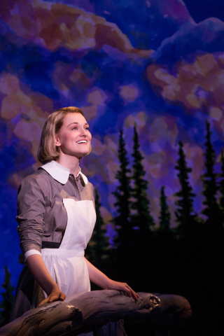"Kerstin Anderson was a college sophomore when she won the role of Maria in ""The Sound of Music's"" new touring production; she turned 21 during technical rehearsals. MATTHEW MURPHY/COURTESY THE SMI ..."