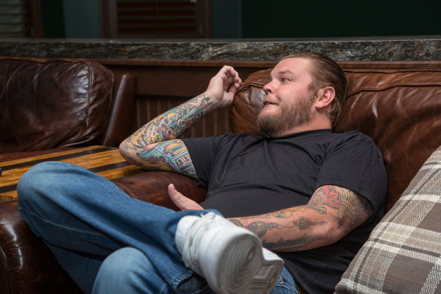 "Corey Harrison, who appears on ""Pawn Stars,"" has listed his dream house for sale at more than twice what he paid for it in 2013. (David Reisman/Real Estate Millions)"