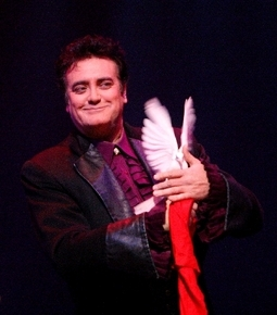 Magician Rick Thomas, seen performing Dec. 11, 2011, at the Tropicana Las Vegas.