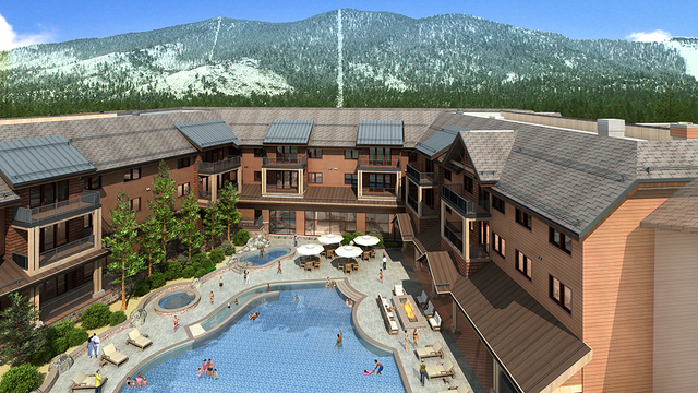 This is a rendering of a new condo project planned for Lake Tahoe. (Courtesy )