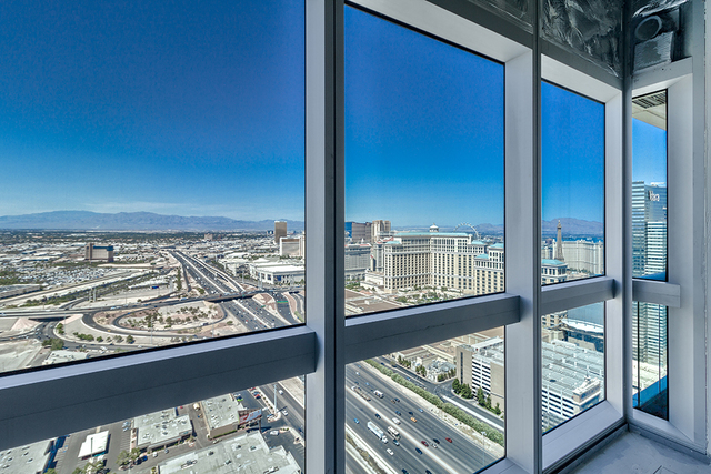 The view from a grey shell at The Martin. (Courtesy of Award Realty)