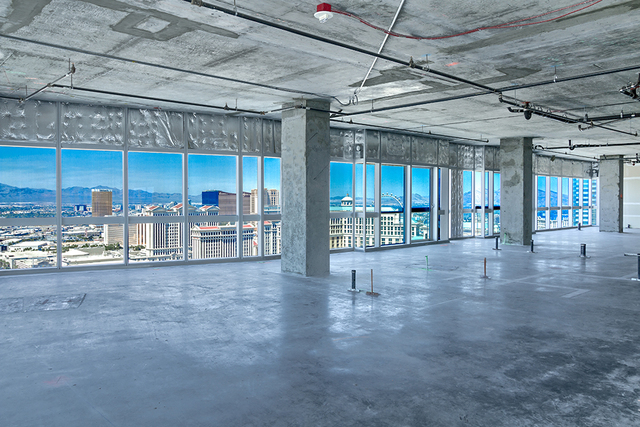 This Martin grey shell penthouse measures 4,826 square feet and listed for $1.8 million. (Courtesy of Award Realty)