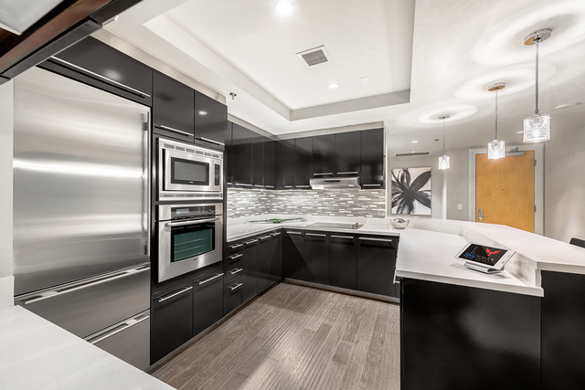 Sky Las Vegas added modern finishes to the units it has placed on the market. (Courtesy of Luxury Real Estate Lounge)