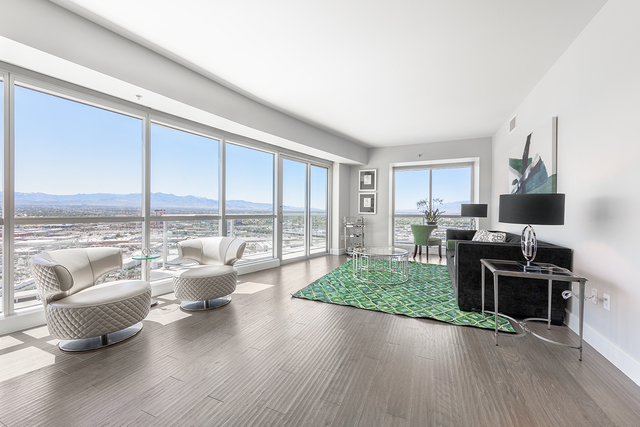 Sky Las Vegas has placed renovated units on the market this summer. (Courtesy of Luxury Real Estate Lounge)