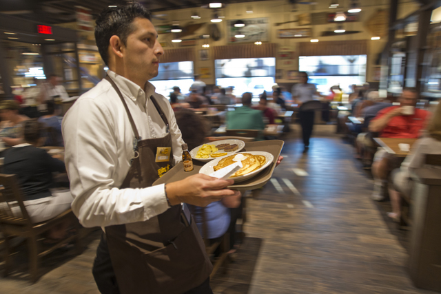 Eager Hungry Customers Flock To Las Vegas Opening Of
