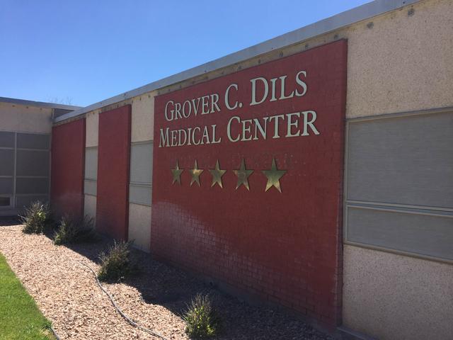 Grover C. Dils Medical Center in Caliente (Blake Apgar/Las Vegas Review-Journal)