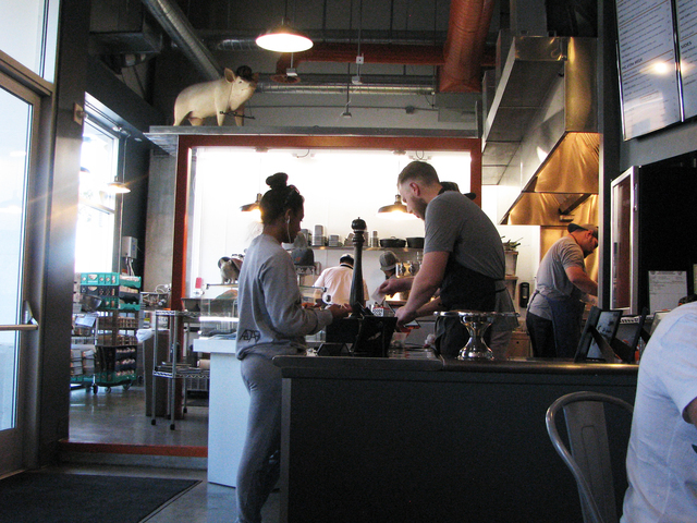 Sandwich shop The Goodwich in Soho Lofts at 900 Las Vegas Blvd. South, No. 120, features unusual takes on classic sandwiches. F. Andrew Taylor/View