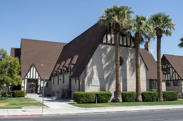 Church of Jesus Christ Latter-day Saints located at 501 S. Fifth Ave is pictured on Tuesday, July 26, 2016, in Las Vegas. On  (Bridget Bennett/Las Vegas Review-Journal) Follow @bridgetkbennett