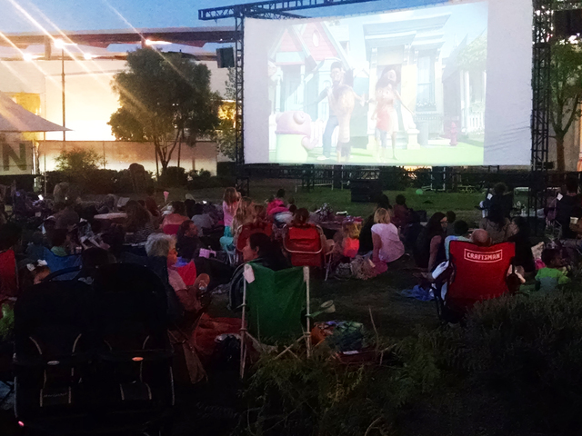 Movies in the Square are planned for sundown Thursdays through Aug. 18 on the Green at Town Square Las Vegas, 6605 Las Vegas Blvd. South. Special to View