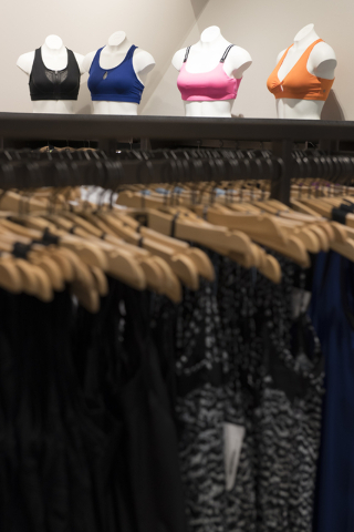 Fabletics active wear clothing store at Downtown Summerlin in Las Vegas is seen Thursday, July 21, 2016. Jason Ogulnik/Las Vegas Review-Journal