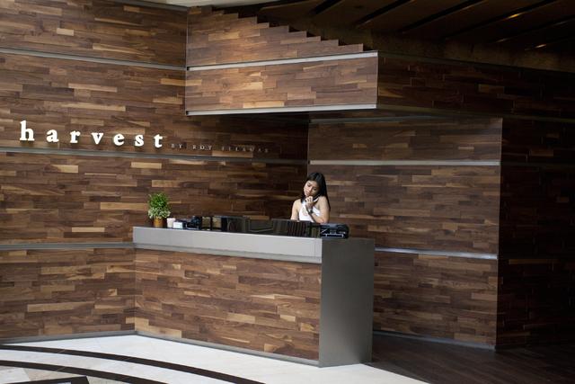 The restaurant Harvest by Roy Ellamar at Bellagio. Loren Townsley/Las Vegas Review-Journal Follow @lorentownsley