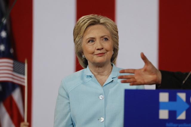 Hillary Clinton on July 23, 2016. (Scott Audette/Reuters)