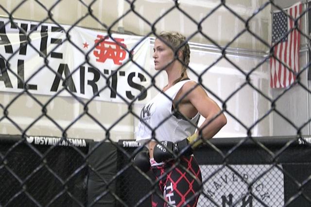 Jessica Hoy (Heidi Fang/Las Vegas Review-Journal)