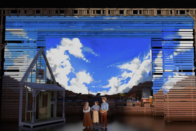 """IDAHO!"" set design by Andy Walmsley. (The Smith's Center)"