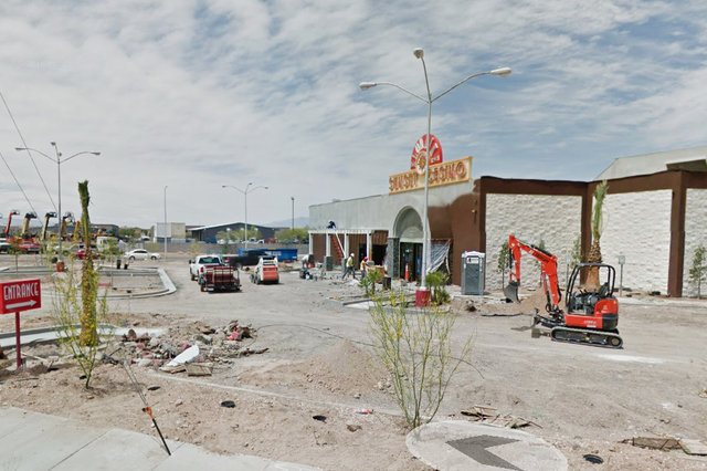 Klondike Sunset Casino under construction in Henderson. (Google Street View)
