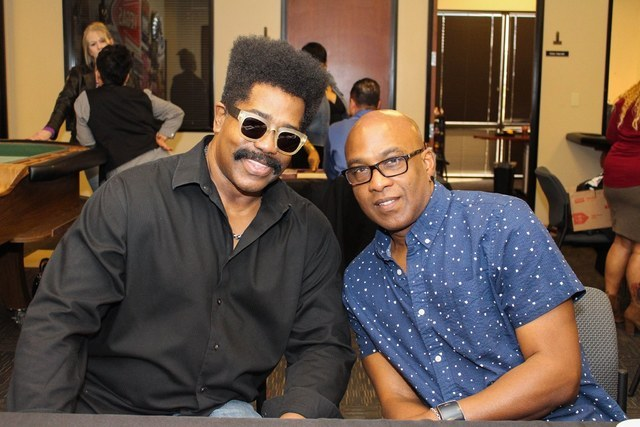 Larry Blackmon and Tomi Jenkins of Cameo.