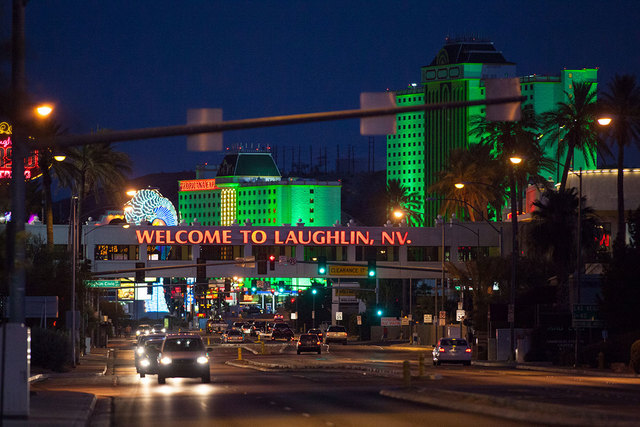 Laughlin, Nevada. (Chase Stevens/Las Vegas Review-Journal file)