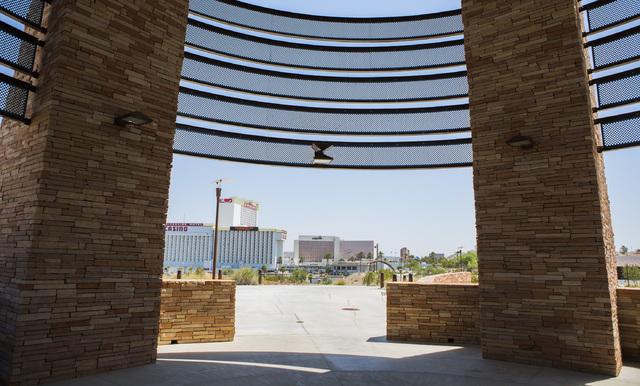 Casinos in Laughlin, Nev. is seen Thursday, July 28, 2016, on The Riverwalk Exploration Trail. Jeff Scheid/Las Vegas Review-Journal Follow @jeffscheid