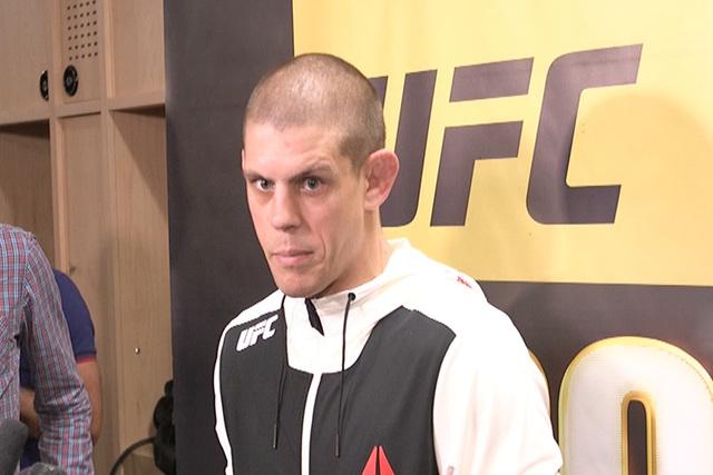 UFC veteran Joe Lauzon. (Heidi Fang/Las Vegas Review-Journal)